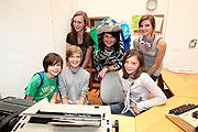 LHF Gabi Burgstaller zu Besuch in der Kinderstadt Mini Salzburg im Volksgarten