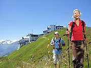 Wanderer Schmittenhoehe
