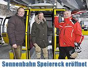 Eröffnung der neuen 8er Gondelbahn auf das Speiereck in St. Michael im Lungau