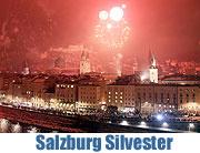 Silvester in der Salzburger Altstadt 2011 (Archiv)