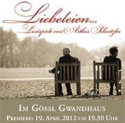 """150 Jahre Arthur Schnitzler: """"Liebeleien - Lustspiele von Arthur Schnitzler"""" Foto: © Gössl"""