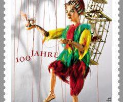 Sonderbriefmarke für das Salzburger Marionettentheater