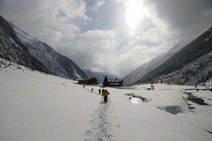 Zweitägiges Wintererlebnis im Krimmler Achental – Geführte Schneeschuhwanderung am 23. und 24.02.2013