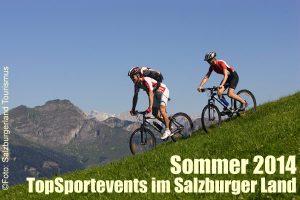 Top-Sportevents @ Salzburgerland im Sommer 2014