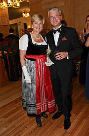 """Taxis und Rupert Stadler bei der Audi Night der Salzburger Festspiele im Restaurant M32 & Oper """"Der Rosenkavalier"""" im Großen Festspielhaus in Salzburg am 01.08.2014 ©Fotos: BrauerPhotos (c) Sabine Brauer"""