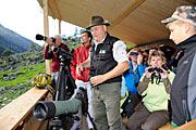 Wildtiersafari im hinteren Habachtal ©Foto: Nationalpark Hohe Tauern