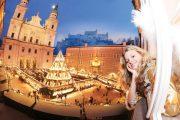 Traditioneller Salzburger Christkindlmarkt 2016 eröffnet