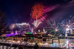 Silvester 2017 und Neujahr 2018 in Salzburg