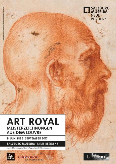 "Ausstellung ""ART ROYAL - Meisterzeichungen aus dem Louvre"" im Salzburgmuseum"