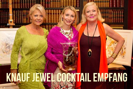"""Cocktailempfang Knauf Jewels """"Haute Couture"""" Schmuck, Hotel Bristol, Salzburg (©Foto. Wildbild)"""
