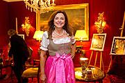 """Uschi Dämmrich von Luttitz beim Cocktailempfang Knauf Jewels """"Haute Couture"""" Schmuck, Hotel Bristol, Salzburg Foto: Wildbild Günter Freund/Doris Wild"""