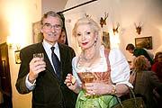 Unternehmer Karl Ochsner mit Elena Kappelhoff-Wulff (Mutter von Natalie Knauf) @Foto: Wildbild