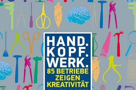 Handwerks- und Designfestival Hand.Kopf.Werk. vom 11.-28.04.2018 in Salzburg