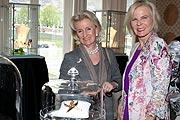 Elisabeth Gürtler. Annette Zierer beim Knauf Juwelencocktail, Sacher Salzburg anl. der Osterfestspiele ©www.wildbild.at