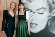 """Glanz, (Juwelen-)Glamour und Marylin Monroe in Salzburg  Anja Kruse und Co. feiern Auftakt der Osterfestspiele beim """"Knauf Jewels & Friends Cocktail"""" im Sacher"""