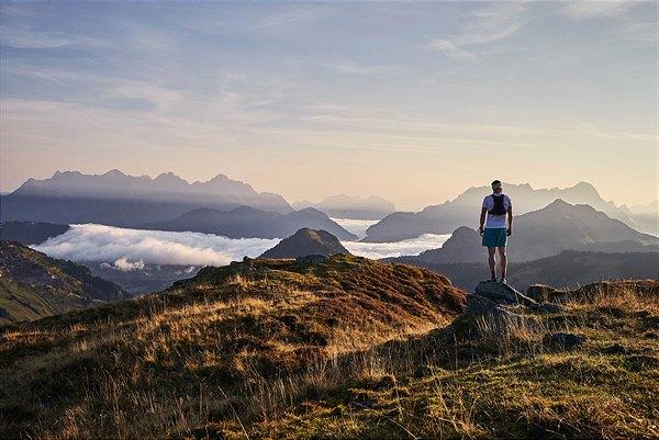 Über 400 km Wanderwege und vier Bergbahnen stehen in Saalbach Hinterglemm zur Verfügung © saalbach.com, Daniel Roos